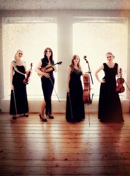 Wedding string quartet based in London