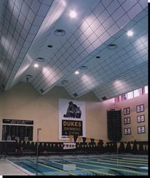 Ceiling spraying - Swimming Pools