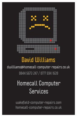 your computer repaired in your own home just £35
