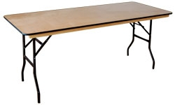 Trestle tables 2,5ftx6ft