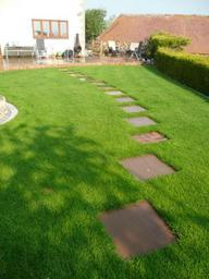 Garden paving, patio and paths in Wiltshire
