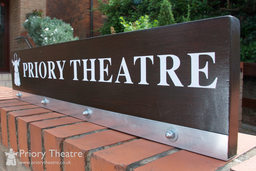 The Priory Theatre Sign