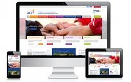 ACC Portfolio - Bespoke responsive website and database