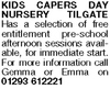 Kids Capers Day Nursery & Pre-school