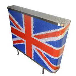 Union Jack radiator covers