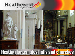 Heating for Churches, Temples & Halls
