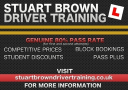 Stuart Brown Driver Training Advert