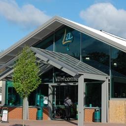 Longacres Front Entrance