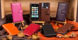 FZ Fonerize's Range of Real Leather Cases and Wallets for  iPhone 4, 5 and 6