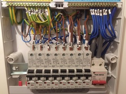 Consumer unit upgrade to an all RCBO board