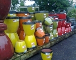 Coloured Pots 160x120