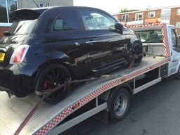Fiat 500 Abarth Car Delivery