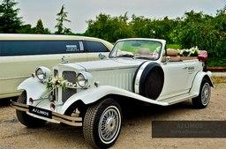 AJ LIMOS wedding car hire , Classic wedding car