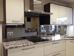 Bronze Toughened Mirror Splashbacks