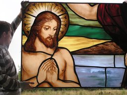 Traditional Stained glass New design and manufactu