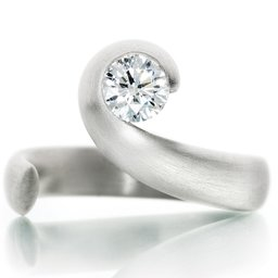 Contemporary Diamond Ring Spurgeon