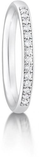 Third diamond set Eternity / Wedding ring