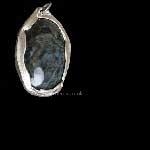 Velvert Sheen Obsidian pendant