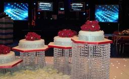 Intamixx Wedding Cake and Show