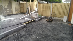 Landscape gardener Dublin during  the job