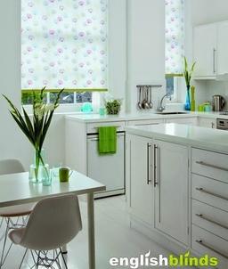 Floral Kitchen Blinds