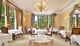 Restaurant at Knockendarroch Hotel and Restaurant in Pitlochry