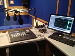Radio studio equipment, audio visual equipment, radio studio installation