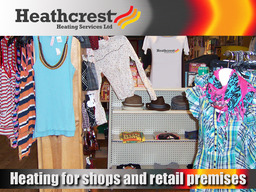 Heating for Shops & Retail