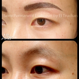 Oriental Eyebrows Semi Permanent Makeup By El Truchan @ Perfect Definition