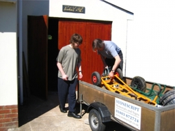 Our small workshop in Kingskerswell, Newton Abbot