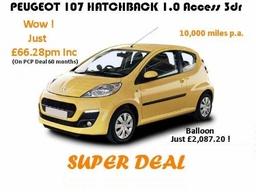 Peugeot 107 Super Deal