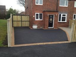 Complete, driveway, fencing, gates & drop crossing
