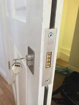 era high security lock fitted