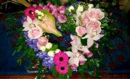 Designer Heart Funeral Flowers