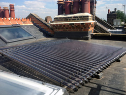 3sqm DF100 solar thermal array by Renewable Wrks™