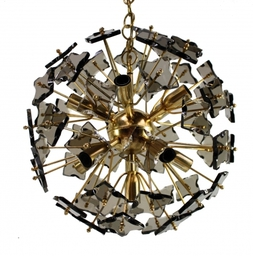 A Pair Of Gio Ponti Style Chandeliers