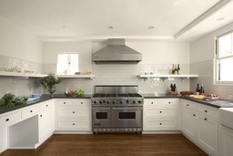 Strong White Kitchen