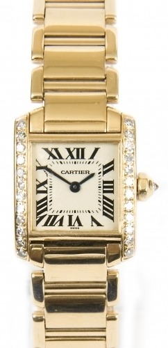 Ladies Gold Cartier Tank Francaise - Buy, Sell, Exchange & Cash Loans Advanced