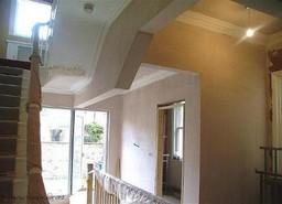 Internal Plastering and Cornicing.