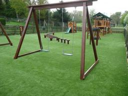 Artificial grass pub play area in Wiltshire