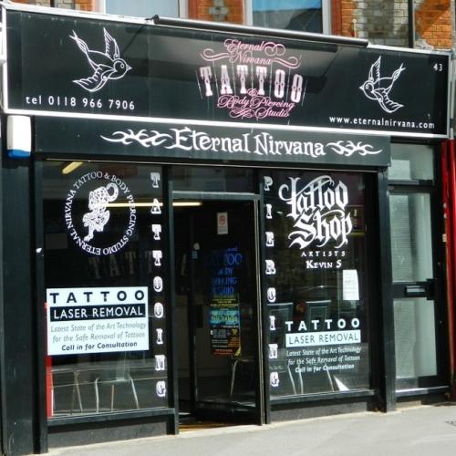 31ffbbdf2 Eternal Nirvana Tattoo & Body Piercing Studio, 43 Wokingham Road ...