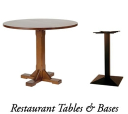 Restaurant tables and Bases