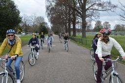 Enjoy cycling along Brightons stunning parks