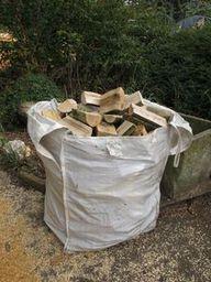 Bulk bags of logs for sale