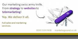 Marketing Services - many tools to choose from and we can offer them all....