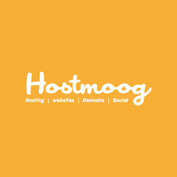 Orange Hostmoog Logo