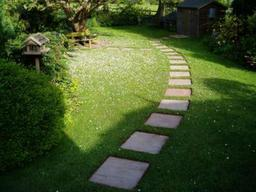 Garden paving and landscaping in Wiltshire