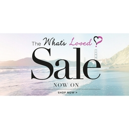 The What's Loved Sale NOW ON