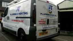emrgency plumbing van