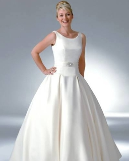Grace style B644 by Phoenix Gowns . Also available in lace.